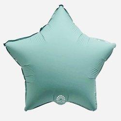"""Foil Star, Aquamarine 18"""" (45cm.)"""