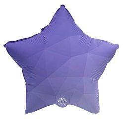 """Foil Star, Purple Gradient 18"""" (45cm.)"""
