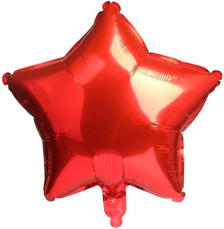 "Foil Star, Red 18"" (45cm.)"