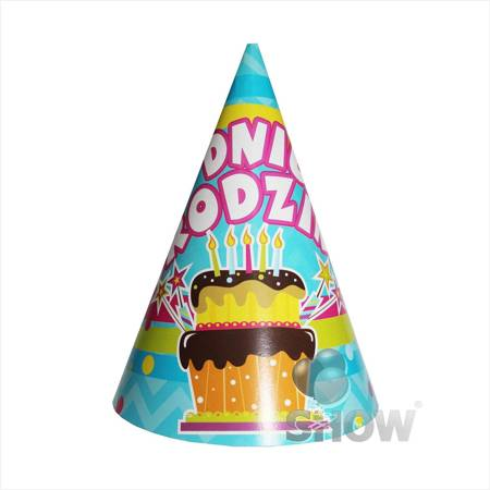 "Paper Hat ""W Dniu Urodzin"" (1pcs.)"