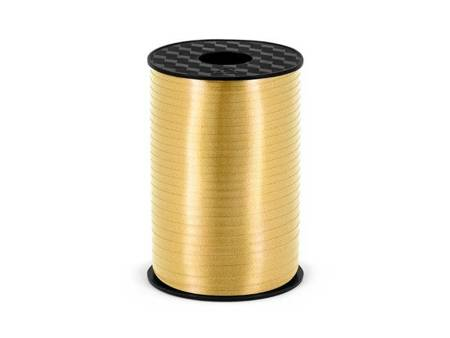 """Ribbon for balloons """"Gold"""" (5mm*225m)"""