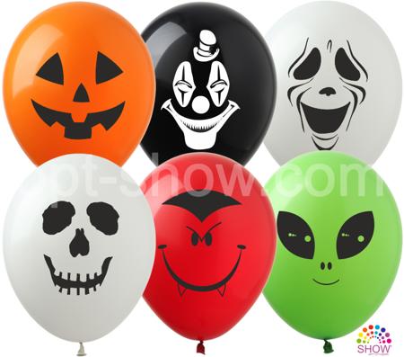 "SHOW™ 12"" ""Halloween"" (10 pcs.)"