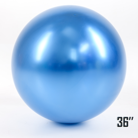 "Show™ 36"" CHROME,  Blue (1 pcs.)"
