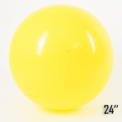 """Balon  24"""" Żółty (1 szt.)"""
