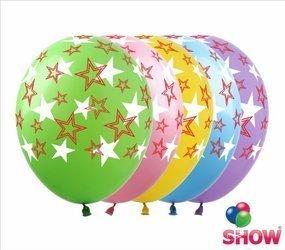 """Balony  """"Gwiazdy"""" (10 szt.)"""