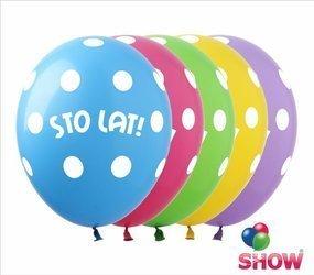 "Balony ""STO LAT"" (10 szt.)"