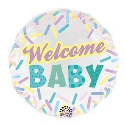 """""""Welcome Baby""""  18"""" (45cm.)"""