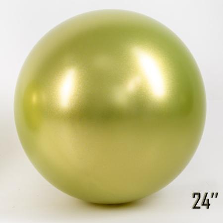 """Balon  24"""" CHROME,  Fistaszkowy (1 szt.)"""