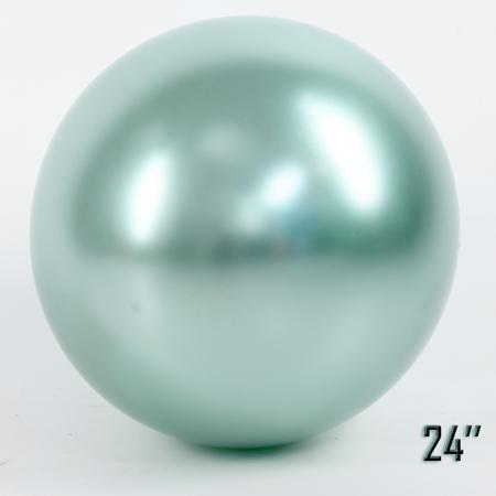 "Balon  24"" CHROME,  Miętowa Perła (1 szt.)"
