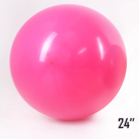 """Balon  24"""" Malinowy (1 szt.)"""
