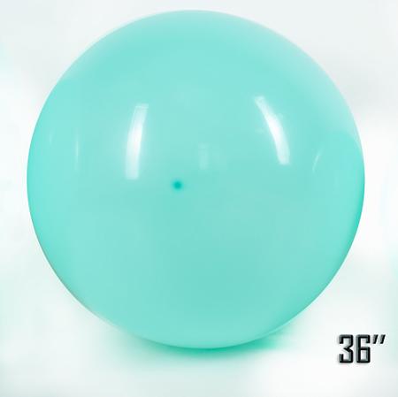 "Balon  36"" Turkusowy Pastel (1 szt.)"
