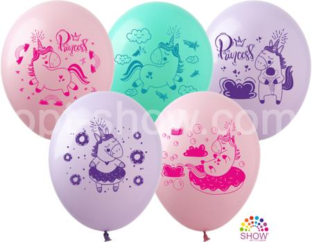 """Balony  """"Jednorożce"""" (10 szt.)"""